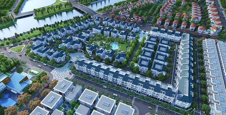 khu biệt thự cao cấp sol villas Quận 2