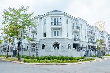 Biệt thự góc Sol Villas 3 mặt tiền cực hiếm, DT 140m2, giá tốt 14.8 Tỷ