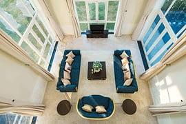 Biệt Thự Sol Villas phòng khách sang trọng
